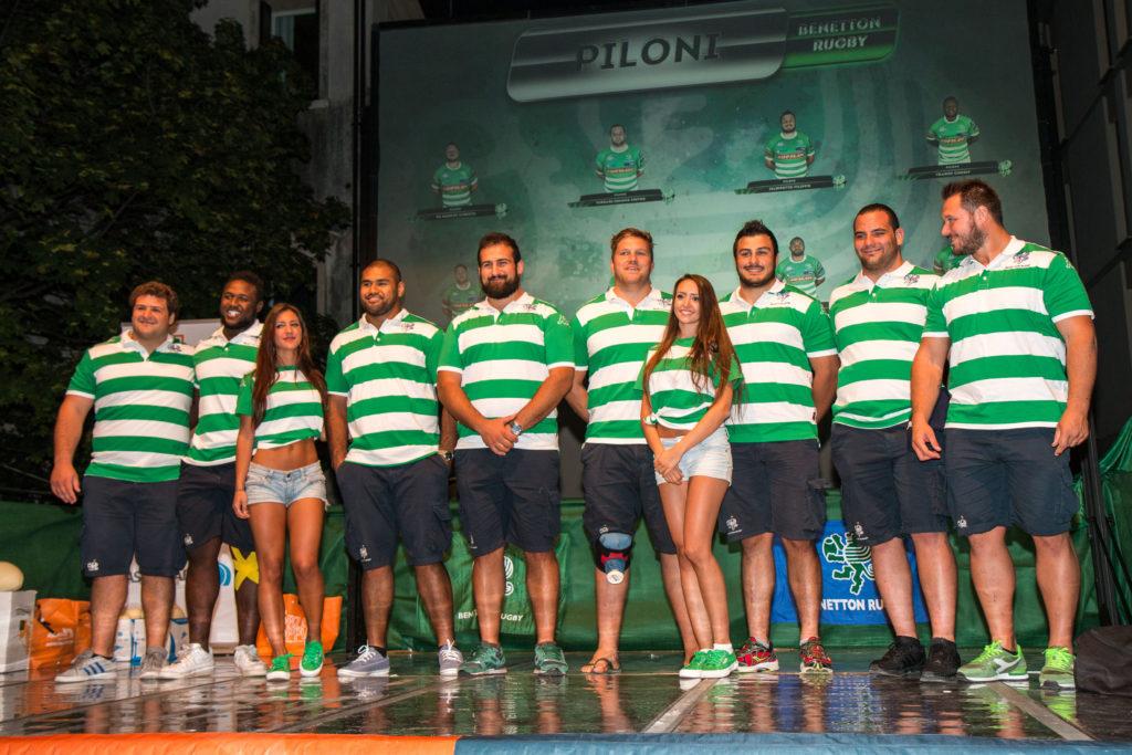 20150907, Benetton Treviso, Presentazione squadra, Treviso Piazza Trentin, Photo Alfio Guarise