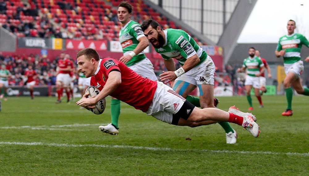 MUNSTER 46  BENETTON RUGBY 3