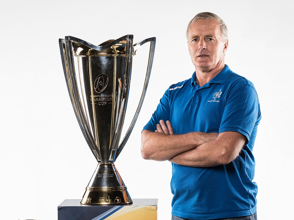 REPRO FREE***PRESS RELEASE NO REPRODUCTION FEE*** 2017/2018 EPCR European Rugby Champions Cup & European Rugby Challenge Cup Launch, Convention Centre, Dublin 2/10/2017 Benetton Treviso head coach Kieran Crowley Mandatory Credit ©INPHO/Dan Sheridan